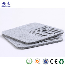 Customized for Wool Felt Coaster 3mm & 5mm Felt coasters export to United States Wholesale
