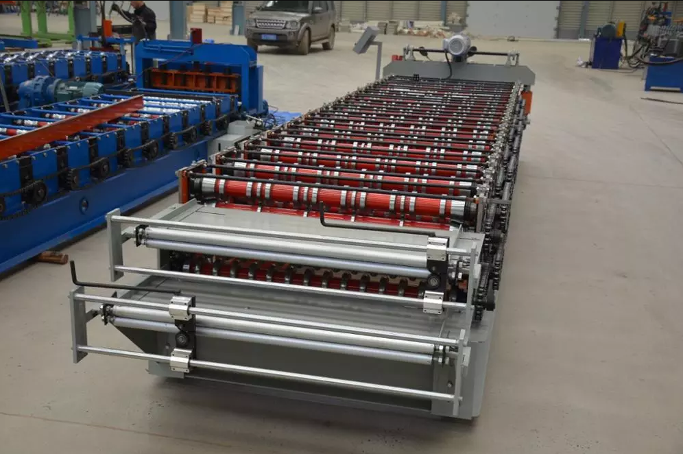automatic double layer cold roll forming machine