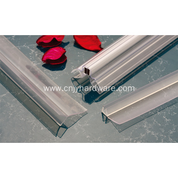 Door rubber PVC strip 180 degree waterproof strip