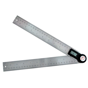 300mm Machinery Tools Angle Measurement Digital Angle Protractor Folding Ruler