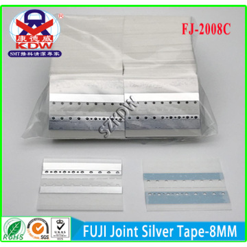 Supply for SMT FUJI Joint Tape FUJI Joint Silver Tape  8mm export to Uganda Factory