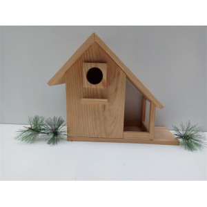 Online Exporter for Outdoor Hanging Wooden Birds Solid Wood  Bird House export to Congo Manufacturers