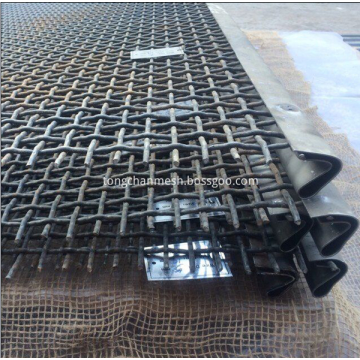 Vibrating Screen Crimped Wire Netting