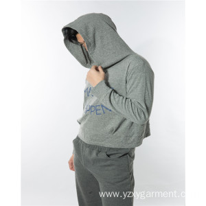 Hot selling attractive price for Running Clothes Short hoodie with words print export to Antigua and Barbuda Factories