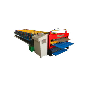 Roofing Steel Double Layer Roll Forming machinery