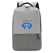 Custom backpack style student bag big capacity