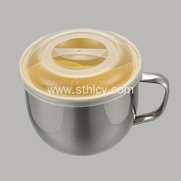 Stainless Steel Leak Proof Bowl With Handle