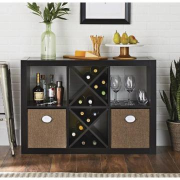 Tall Black Bookshelf with Storage Furniture Store