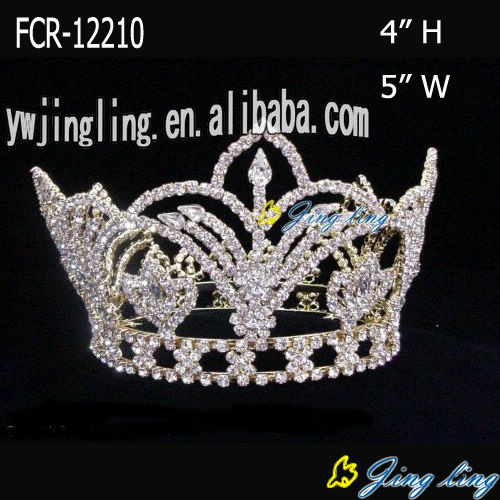 Silver Plated Winner Beauty Queen Crowns