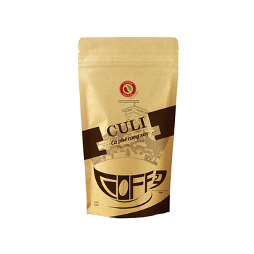 Coffe Pouch with Ziplock