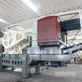 40-90 t/h Basalt Granite Stone Mobile Jaw Crusher