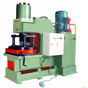 Notching machine for angle steel