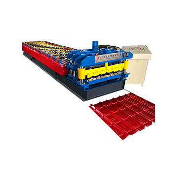 960mm Glazed Roofing Tile edge roll form machine