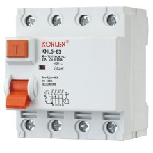Residual Current Circuit Breaker 1p+N 3p+N RCCB Prevent Electric Shock   IEC61008