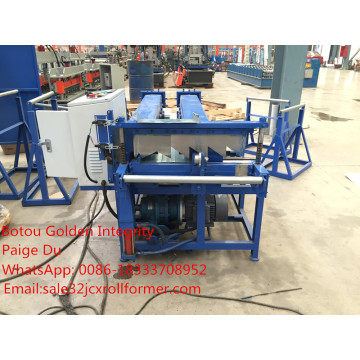 portable clip lock roof forming machine