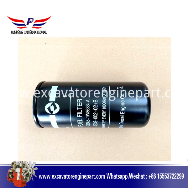 1w8633 D638 000 02 Cx0814c For Shanghai C6121 Diesel Engine For Wheel Loader Xg955ii