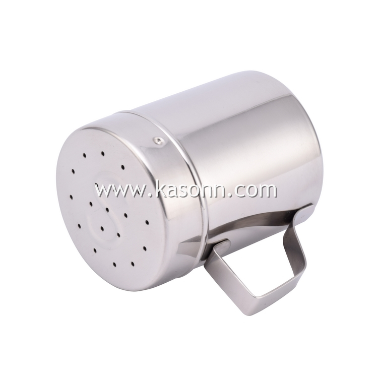 Metal Seasoning Condiment Flavor Shaker with Handle