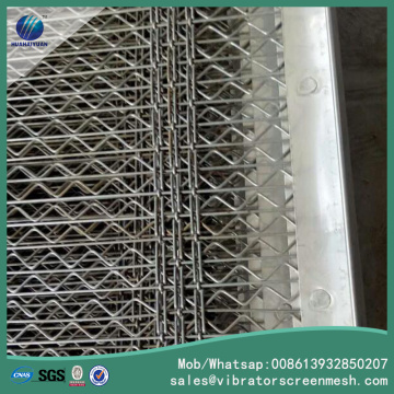 SS304 Diamond Self Cleaning Mesh
