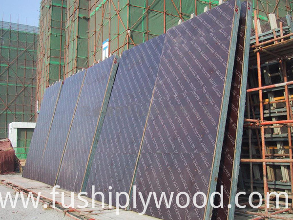 18mm Concrete Formwork Film Faced Plywood