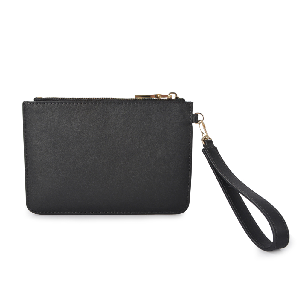 Custom Genuine Leather Envelope Clutch Bag for Women