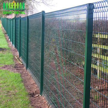 Powder Coat Roll Top wire Panel mesh Fences