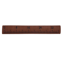 Dark Brown & Black Boat EVA Foam Fish Ruler