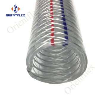 pvc anti-chemical steel wire hose for fuel station