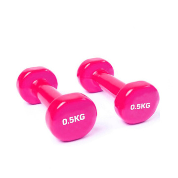 Europe style for Vinyl Hex Dumbbell 0.5 KG Vinyl Dumbbell supply to United States Minor Outlying Islands Supplier