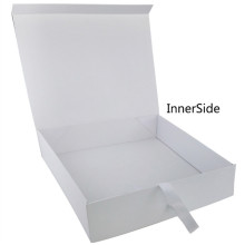 Elegant White Color Female Paper Box for Skirt