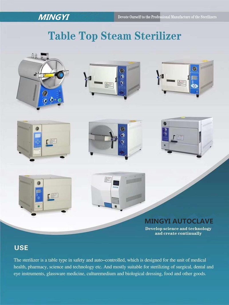 Table top type autoclave