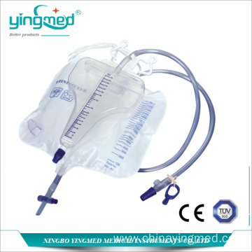 3100ml Pyriform Urine bag with meter