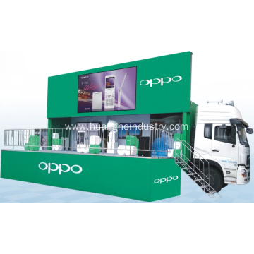 High Resolution LED Screen Stage Truck