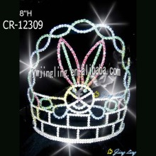Holiday pageant tiara easter rabbit crown