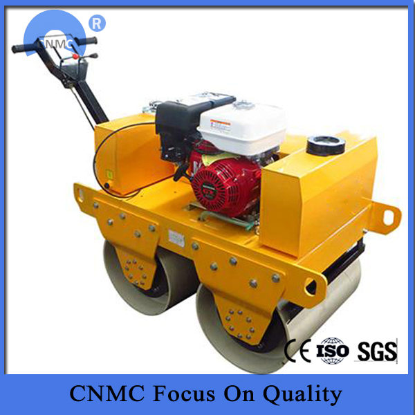 Walk-behind Double Drum Vibratory Road Roller