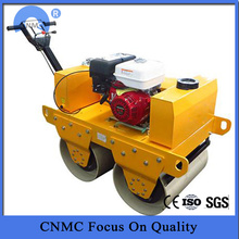 Goods high definition for Road Roller Walk-behind Double Drum Vibratory Road Roller export to Madagascar Factories
