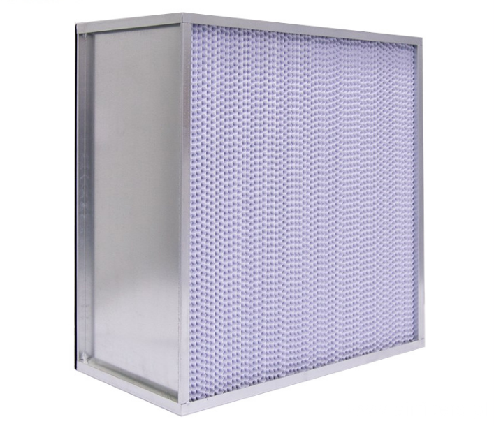 High Effective Air Filter With Partition