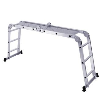multipurpose aluminum ladder with joint