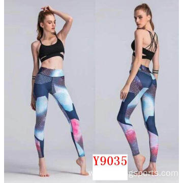 New styles high waisted yoga capri pants