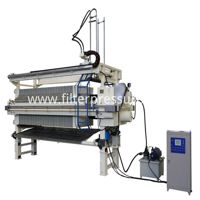 Sewage Cast Iron Filter Press 11
