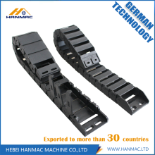 Best Quality for Open Both Side Drag Chain Highly Polished Plastic Wire Carrier Cable Drag Chain export to Botswana Manufacturer