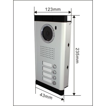 7 Inch Color Wired Door Phone