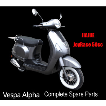 Jiajue VESPA Alpha Scooter Parts Complete Scooter Parts