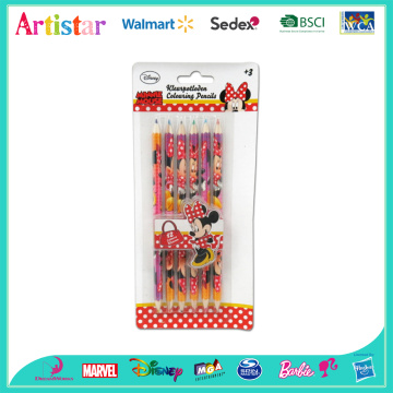 Minnie coloring pencils