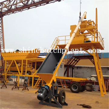 40 Hot Sale Portable Concrete Batching Plant