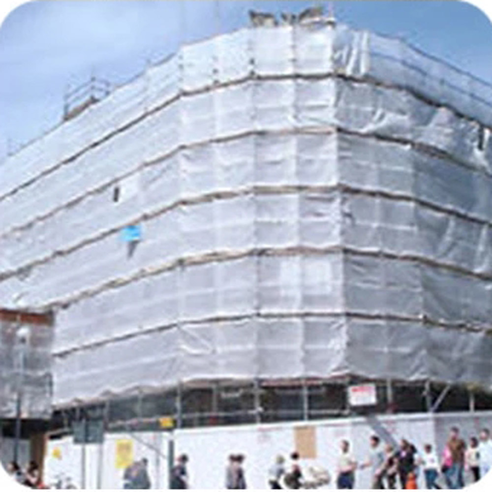 Clear Reinforced Film Scaffolding Protection Sheet