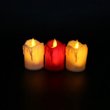 Battery Operated Moving Flame Flameless LED Candles