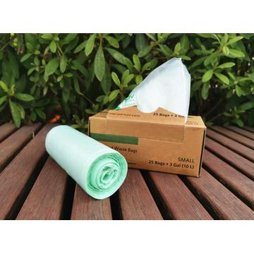 100%  Biodegradable High Strength Compostable Trash Bags
