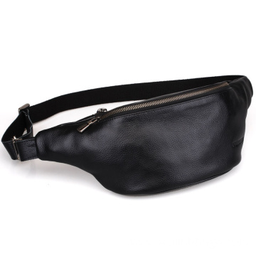 Leather Fanny Pack Waist Bag with Adjustable Belt