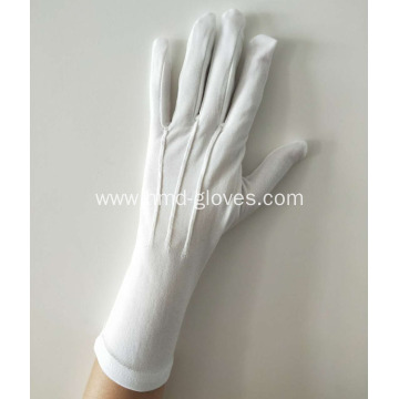 Womens Long Wristed White Gloves