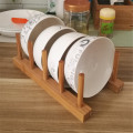 Mall Household Wooden Bowl Shelf
